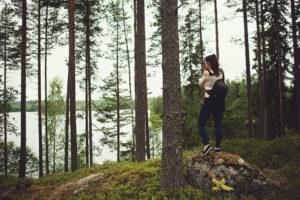 Jen macht Fotos in Schweden