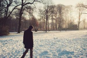 Winterspaziergang mit Kamera in Bremen