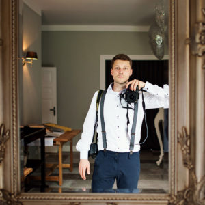 Hochzeitsfotograf Herrenhaus Gut Neuruppersdorf Selfie