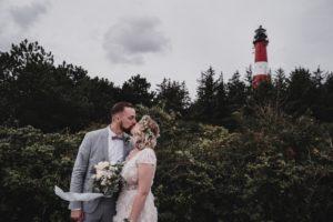 Hochzeit am Leuchtturm Hörnum, Sylt