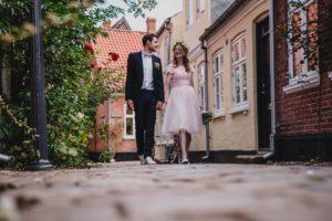 Hochzeit in Ribe, Dänemark