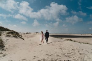Hochzeitsfotos am Strand von Rømø, Dänemark