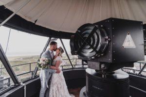 Hochzeit im Leuchtturm Hörnum, Sylt
