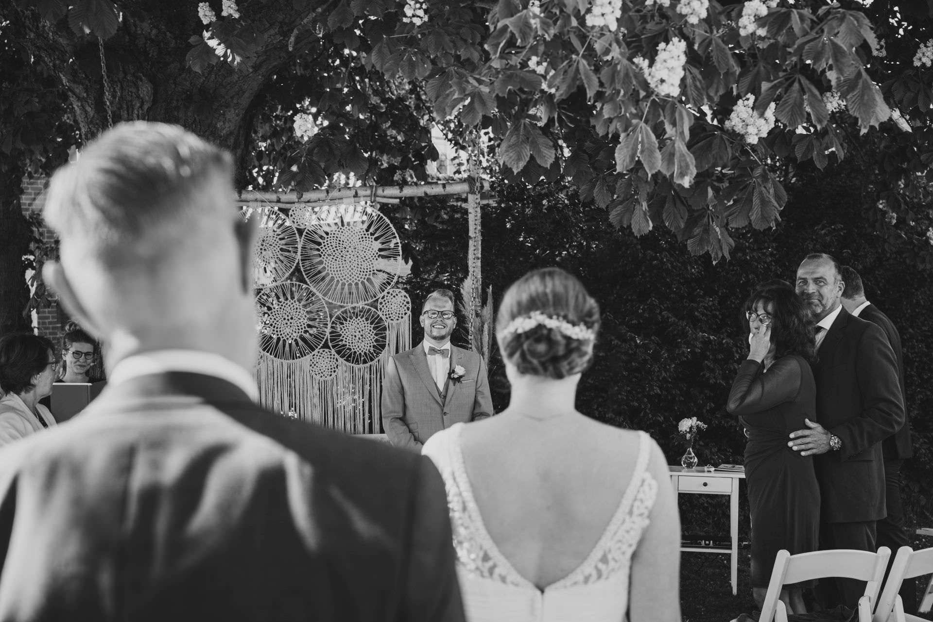 First Look bei der Hochzeit