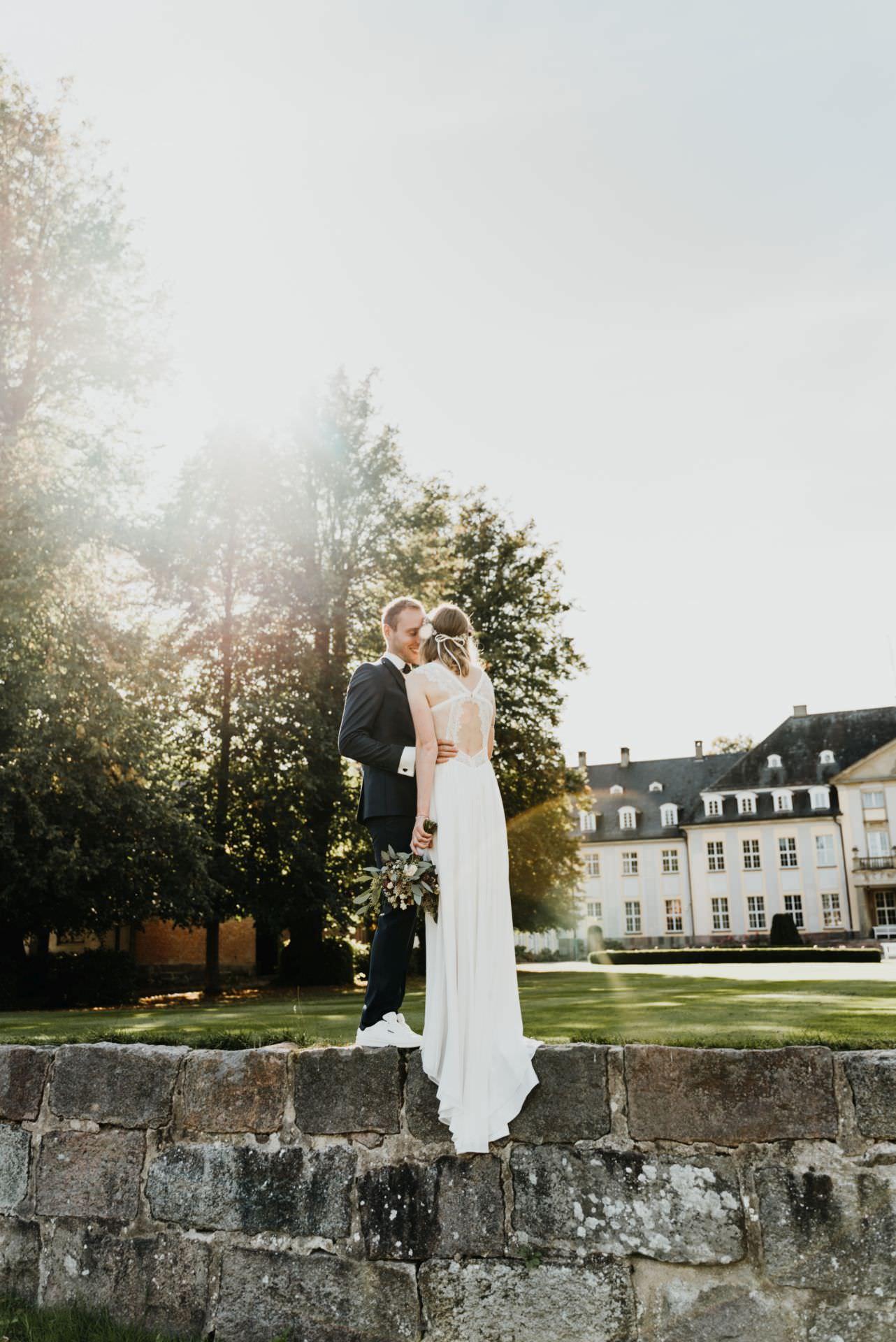 Brautpaar auf Gut Altenhof